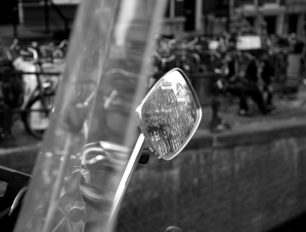 Scooter reflection